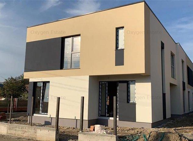 Casa de vanzare de tip duplex cu teren de 240 mp, Someseni - imaginea 1