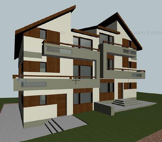 Comision 0 ! Casa cu 4 dormitoare, 5 bai, terasa 22 mp, Dambul Rotund - imaginea 1