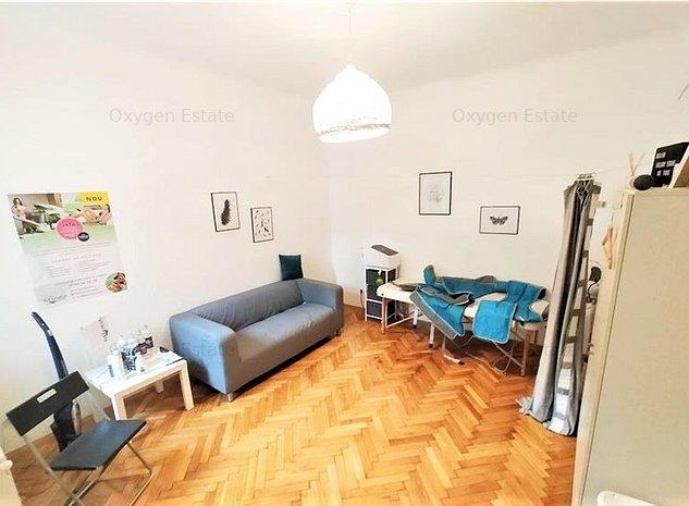 Casa cu 2 camere, ideal ca spatiu comercial sau birou, Zona Hasdeu - imaginea 1