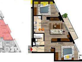 Apartament de vânzare 3 camere în Bucuresti, Nerva Traian