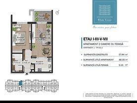 Apartament de vânzare 2 camere, în Ploieşti, zona B-dul Bucureşti