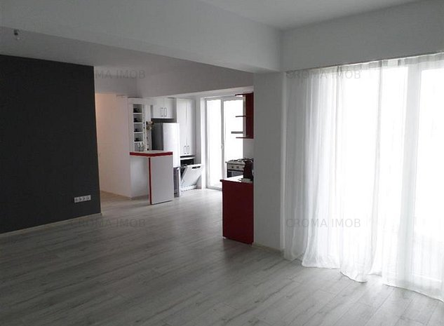 CromaImob vanzare apartament 3 camere, bloc nou, zona 9 Mai - imaginea 1