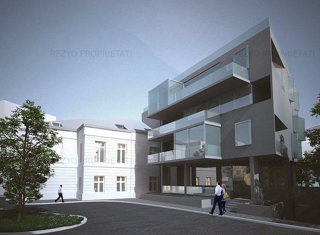 Vanzare Teren CENTRU cu AUTORIZATIE DE CONSTRUCTIE VALABILA - imaginea 1