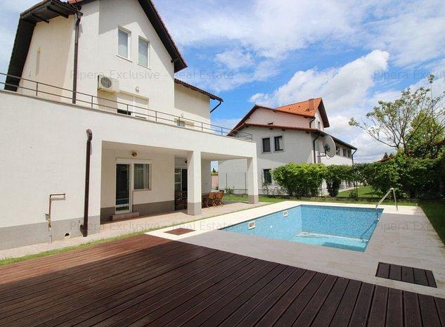 Mircea Eliade, Pipera: vila individuala cu piscina