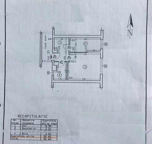 Garsoniera 33mp, zona Traian - imaginea 1