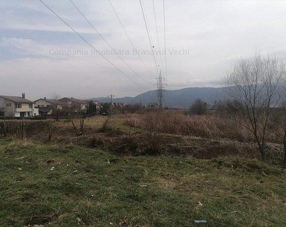 Ghimbav, teren intravilan pentru complex rezidential.  - imaginea 1