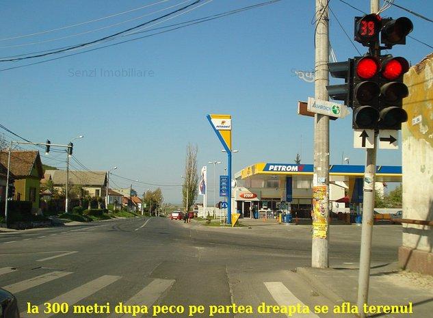 Teren in Codlea la iesirea spre Sibiu cu front la DN 1 - imaginea 1
