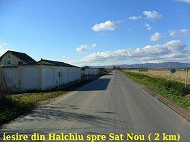 Teren constructii de vânzare, în Halchiu