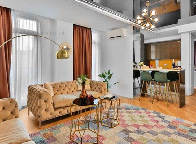 Apartament 3 Camere DUPLEX | Floreasca | Barbu Vacarescu | Mobilat LUX - imaginea 1
