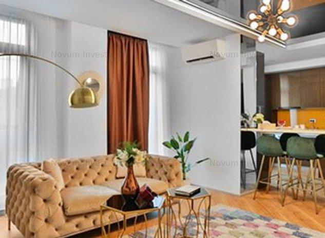 Apartament 3 Camere FLOREASCA BARBU VACARESCU MOBILAT LUX - imaginea 1