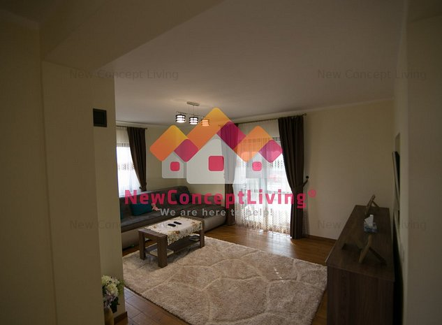 Casa individuala, complet mobilata si utilata, zona exclusiva de case - imaginea 1
