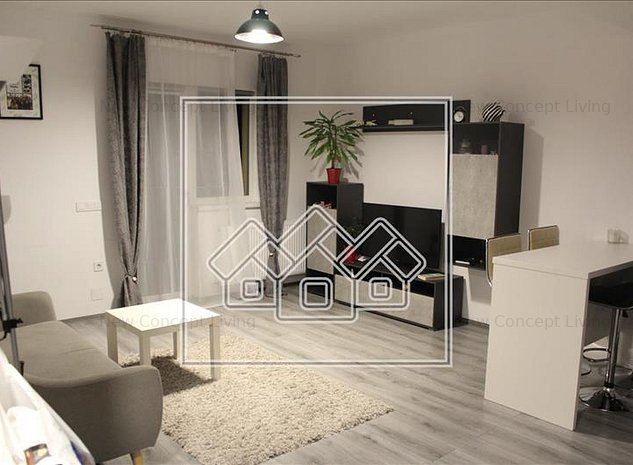 Apartament de vanzare in Sibiu 3 camere Mobilat si Utilat - imaginea 1