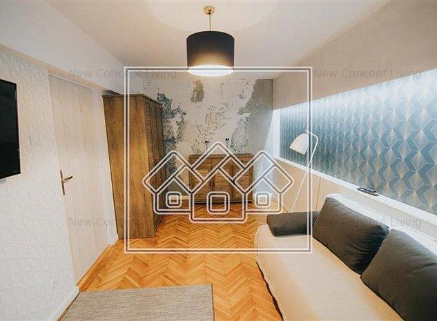 Apartament de inchiriat in Sibiu -2 camere si balcon-mobilat si utilat - imaginea 1