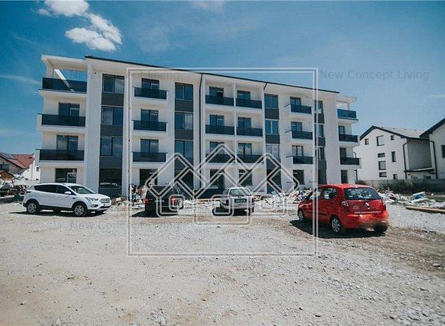 Apartament de vanzare in Sibiu - Selimbar - 3 camere + gradina proprie - imaginea 1