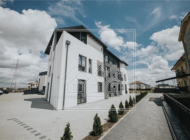 Apartament de vanzare in Sibiu - 2 camere - la vila - intabulat - imaginea 1