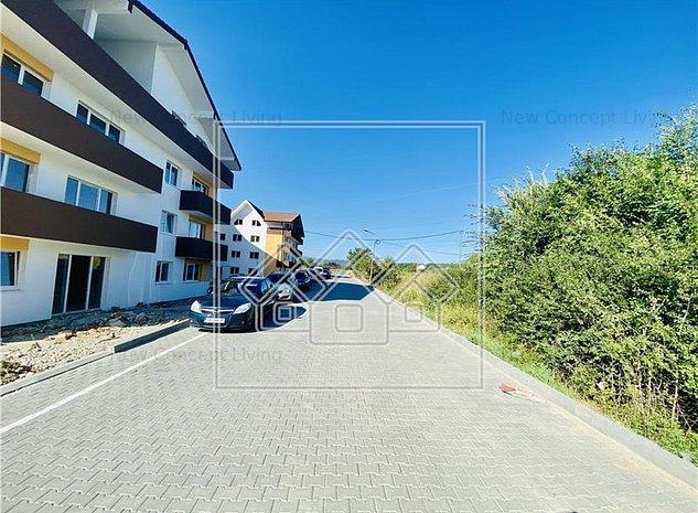 Apartament de vanzare in Sibiu - 3 camere, 2 bai si terasa de 59 mp - imaginea 1