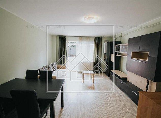 Apartament de vanzare in Sibiu - 2 camere - etaj 1/4 - Zona Strand II - imaginea 1
