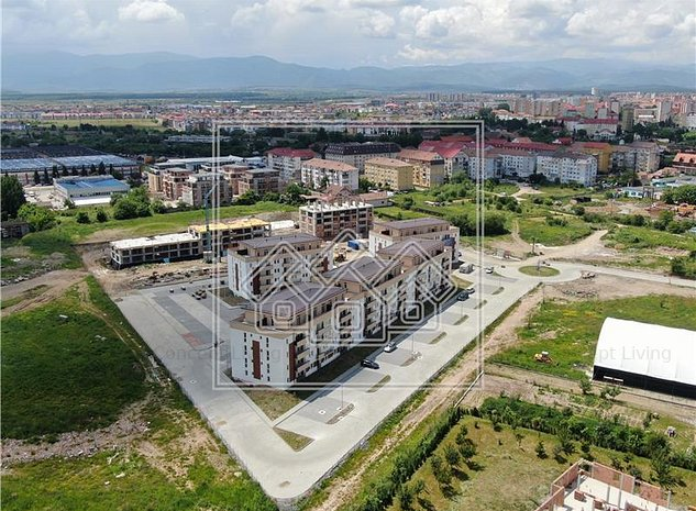 Apartament de vanzare in Sibiu - 3 camere, 2 balcoane - imobil cu lift - imaginea 1