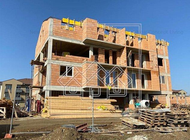 Apartament de vanzare in Sibiu - 2 Camere - Balcon si Parcare - imaginea 1