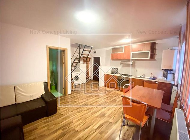 Apartament de vanzare in Sibiu - 3 camere si balcon - Vasile Aron - imaginea 1