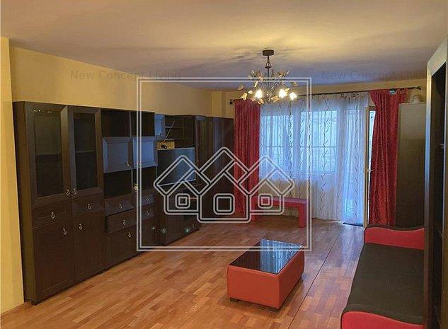 Apartament de inchiriat in Sibiu - mobilat si utilat - terasa 50 mp - imaginea 1