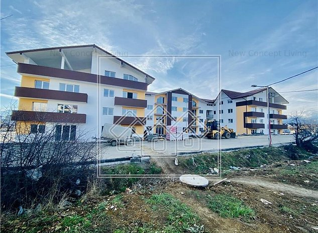 Apartament de vanzare in Sibiu-3 camere cu balcon-Calea Cisnadiei - imaginea 1