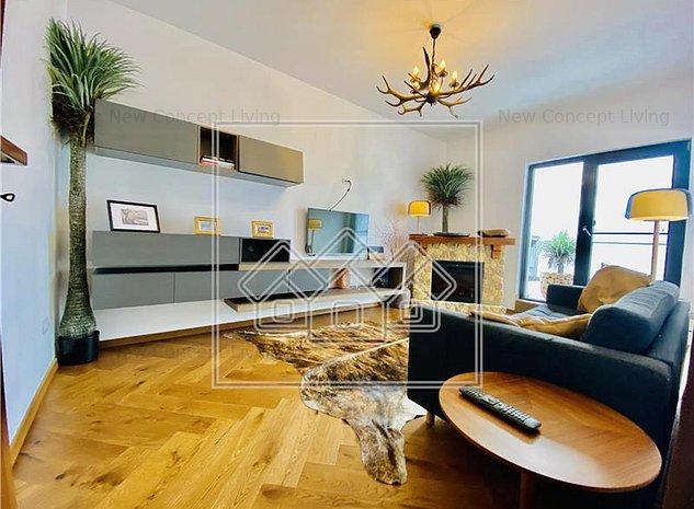 Apartament de vanzare in Sibiu -2 camere cu 2 terase mari -confort lux - imaginea 1