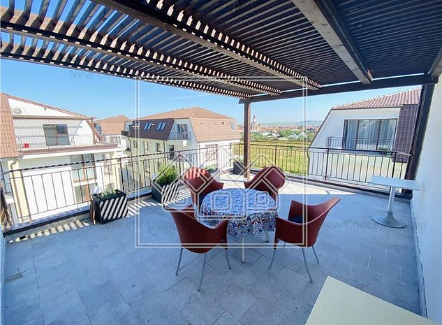 Apartament de vanzare in Sibiu-2 camere cu terasa mare- - imaginea 1