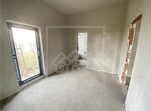 Apartament 2 camere de vanzare in Sibiu - Selimbar - vila cocheta - imaginea 1