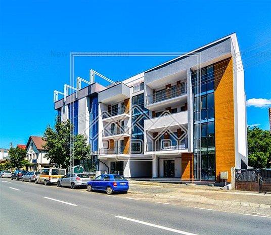 Apartament de vanzare in Sibiu - open space - 84 mpu -Calea Dumbravii - imaginea 1