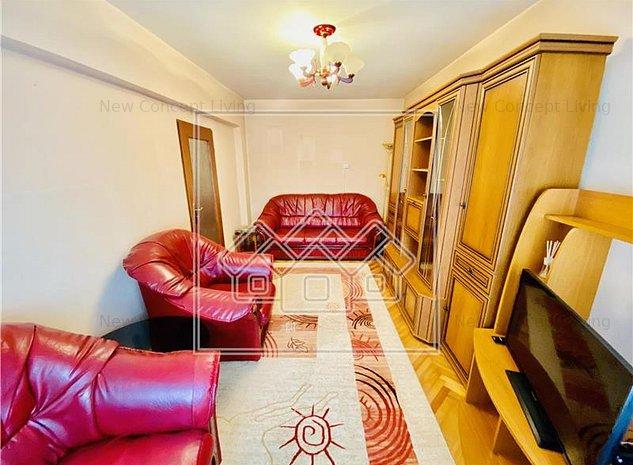 Apartament de vanzare in Sibiu - 3 camere si pivnita - Zona Centrala - imaginea 1