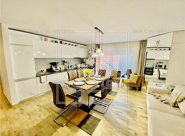 Apartament de vanzare in Sibiu - 3 camere si curte de 120 mp - imaginea 1