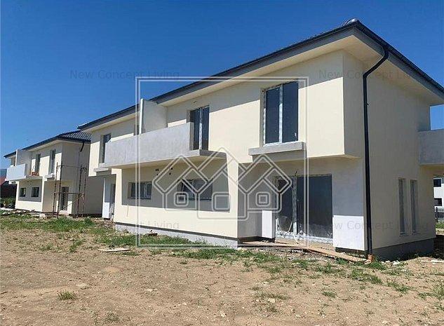 Casa de vanzare in Sibiu - Gradina Partial Pavata si Imprejmuita - imaginea 1