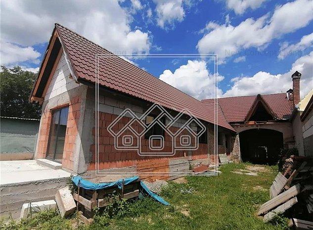 Casa de vanzare in Sibiu - individuala - 1100 mp - Gusterita - imaginea 1