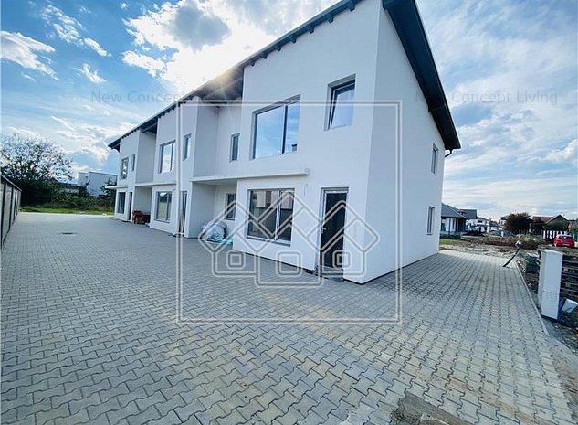 Casa de vanzare in Sibiu - cu 6 camere - imobil nou - zona Triajului - imaginea 1