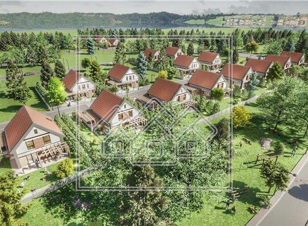 Casa de vanzare in Sibiu - Talmaciu - ansamblu rezidential nou - imaginea 1