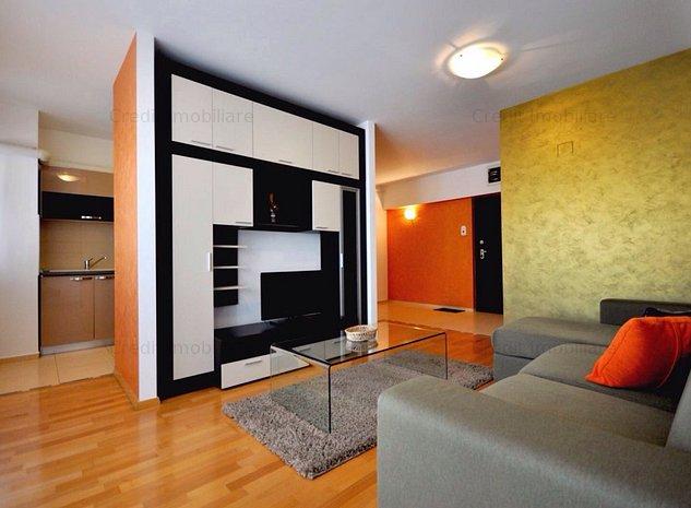 Apartament 2 camere de inchiriat zona centru civic, bloc nou - imaginea 1