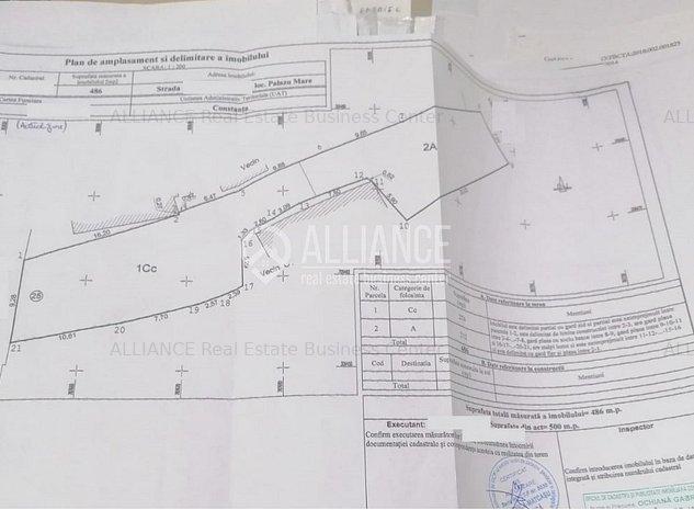 Palazu Mare - Ultracentral teren 486mp - imaginea 1