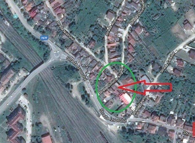 Teren cu pivnita de 250 mp amplasat central - imaginea 1