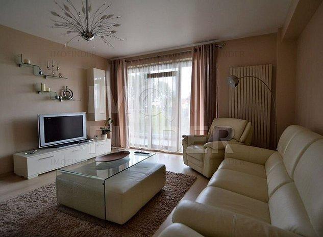 Inchiriere apartament 3 camere Europa, 90 mp, 2 locuri parcare - imaginea 1