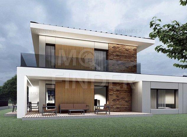 Vanzare teren cu PUZ aprobat, proiect de casa, Romul Ladea, Borhanci - imaginea 1