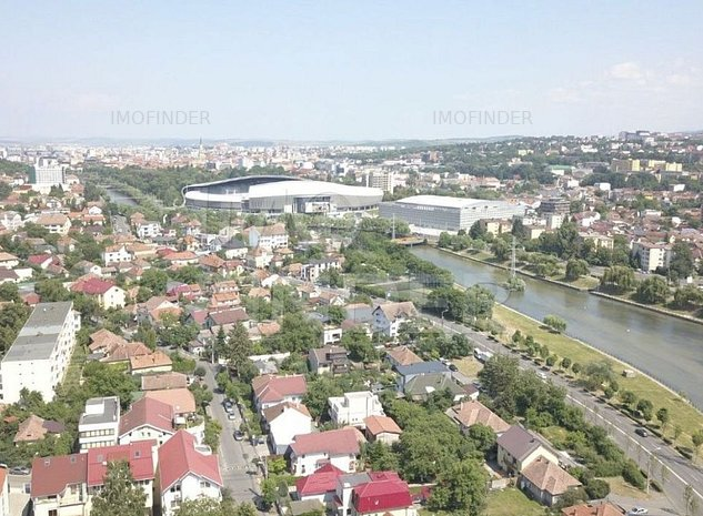 Inchiriere cladire birouri, 1500 mp, clasa A, zona Cluj Arena - imaginea 1