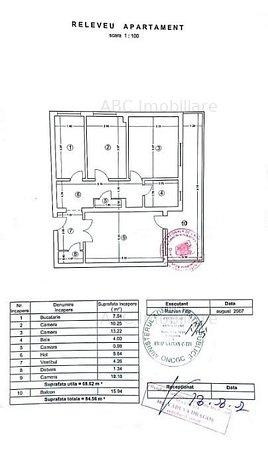 Vanzare apartament 3 camere zona Pantelimon - imaginea 1
