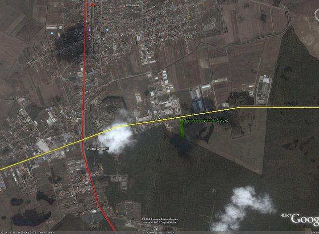 Băneasa, Greenfield, Teisani, Drumul Padurea Pustnicu intravilan zona CB3 Neg! - imaginea 1