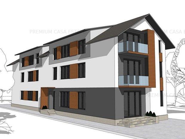 3 camere cu curte proprie direct dezvoltator - imaginea 1