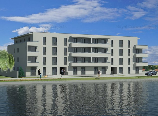 Fundeni, Dobroiesti, apartament 2 camere decomandat - imaginea 1