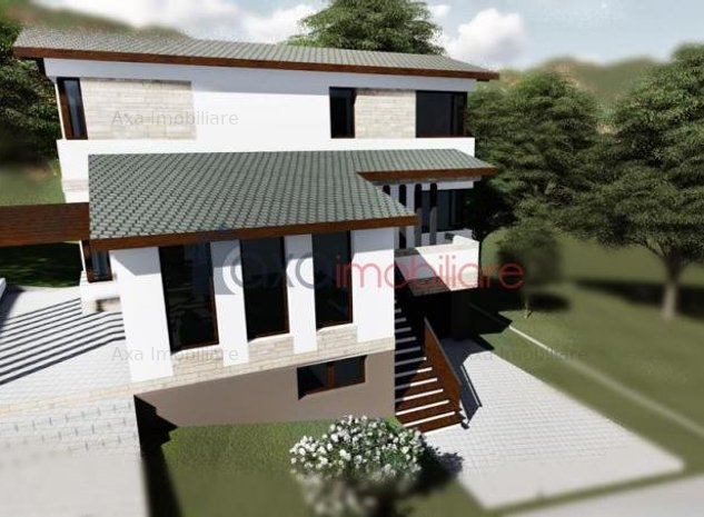 Casa individuala, S+P+E, c-tie noua, garaj, semifinisat, teren 405 mp, DEZMIR - imaginea 1