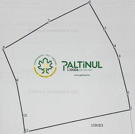 Teren intravilan de constructii in orasul Saliste - imaginea 1