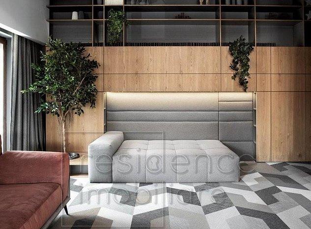 Apartament Design Unic, 4 camere Lux, Manastur, zona Campului+ Garaj - imaginea 1