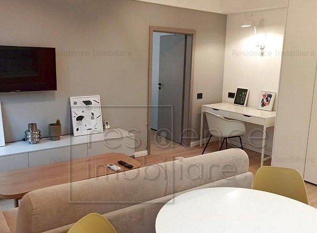 Prima inchiriere! Apartament modern 2 camere, Centru, zona Cinema Florin Piersic - imaginea 1
